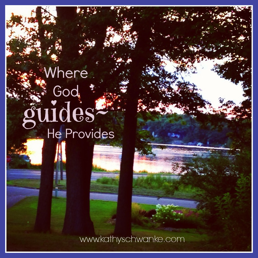 God Guides Kathy Schwanke