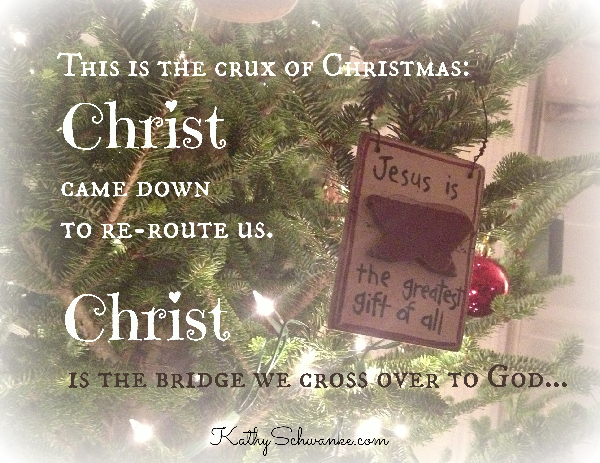 The Crux of Christmas Kathy Schwanke