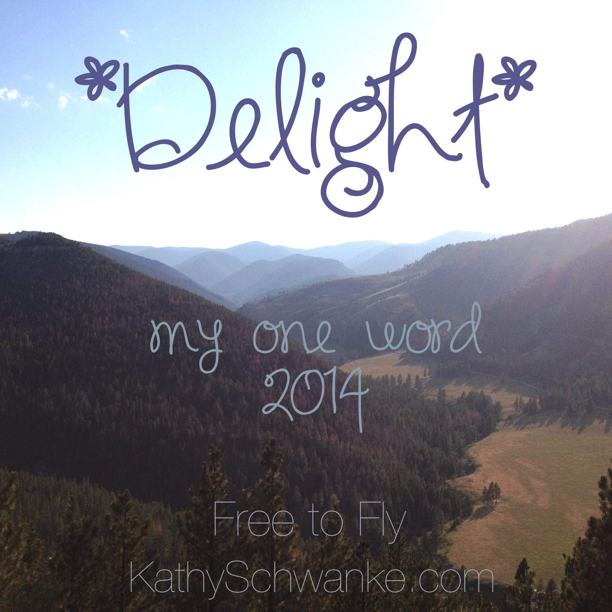 *Delight* {My One Word 2014}