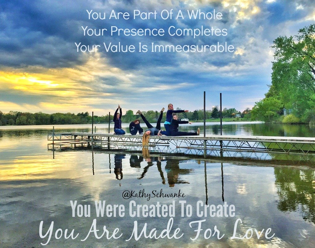 You Are Made For It | And You Reflect It | LOVE | The Impact Of Your Life Will Create Ripples