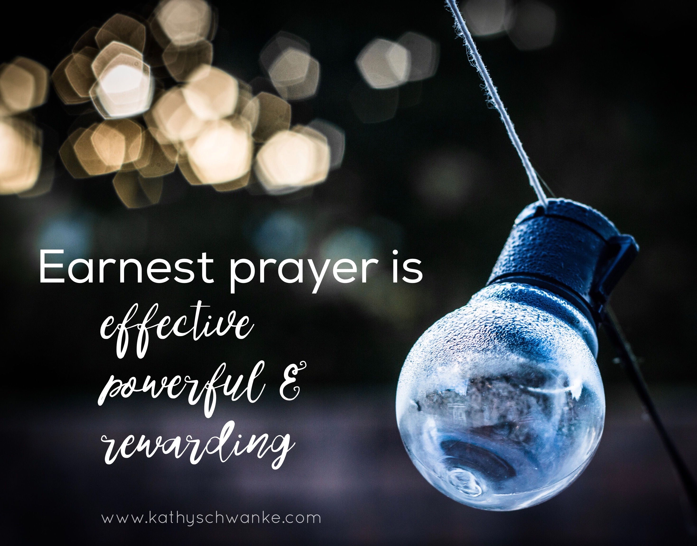 The Immeasurable Value of Prayer